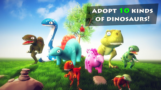 Happy Dinosaurs: Free Dinosaur Game For Kids! screenshots 1