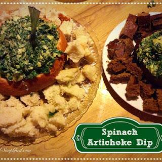 Spinach Artichoke Dip.