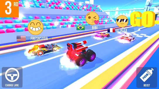 SUP Multiplayer Racing MOD Apk (Unlimited Money) 8