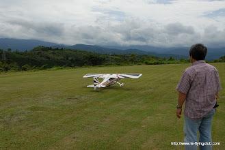 Photo: さてデカスロンの初飛行と行きますか。。。