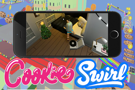 Mad Cookie Swirl Girl Adventure obby Game