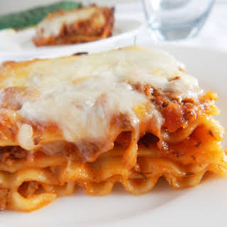 Meat Lasagna Without Ricotta Cheese Recipes.