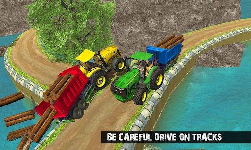 Offroad Tractor Driver Real Cargo Farming Sim 2018 - náhled