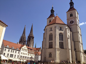 Photo: A place of significant religous history in Regensburg