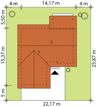 Abra 2 drewniana - Sytuacja