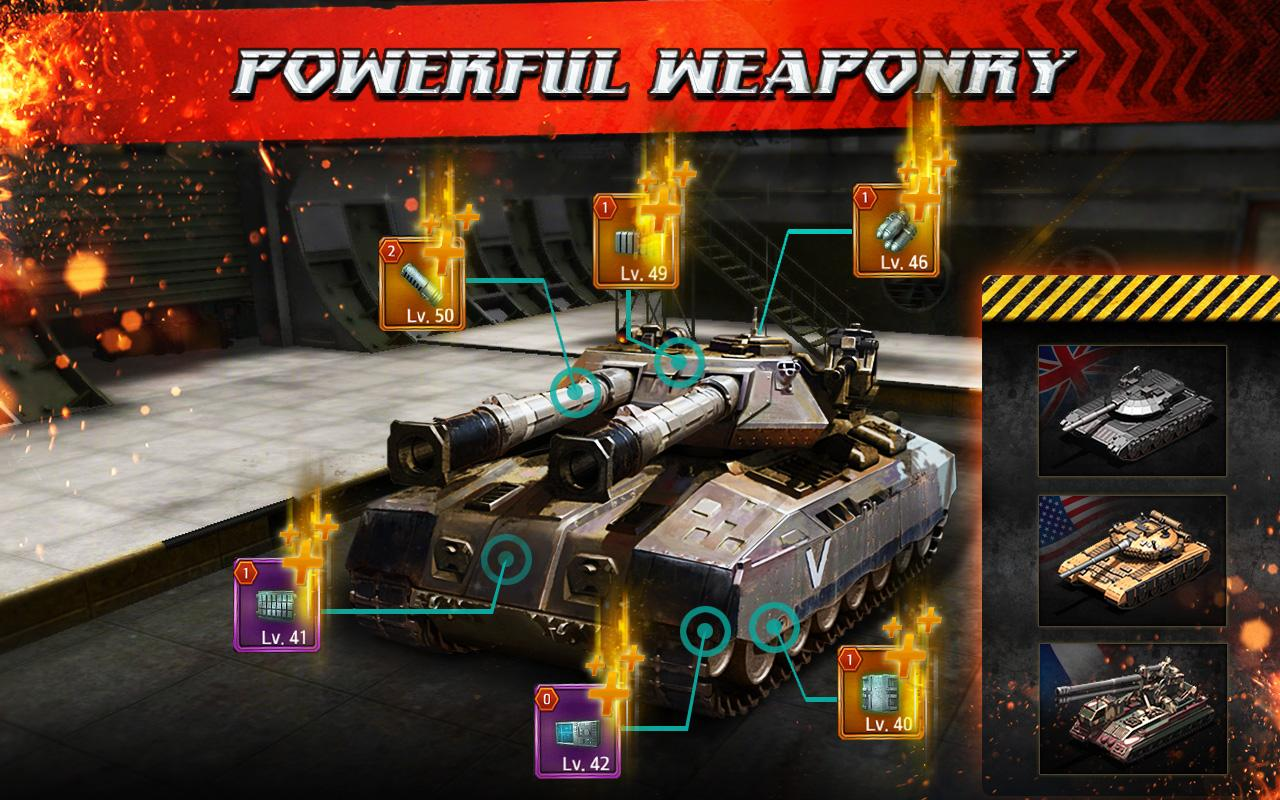 Steel Avengers: Storm Tank War- screenshot