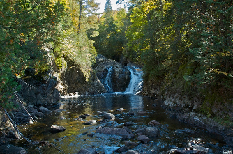Photo: Little Falls Little Agawa river