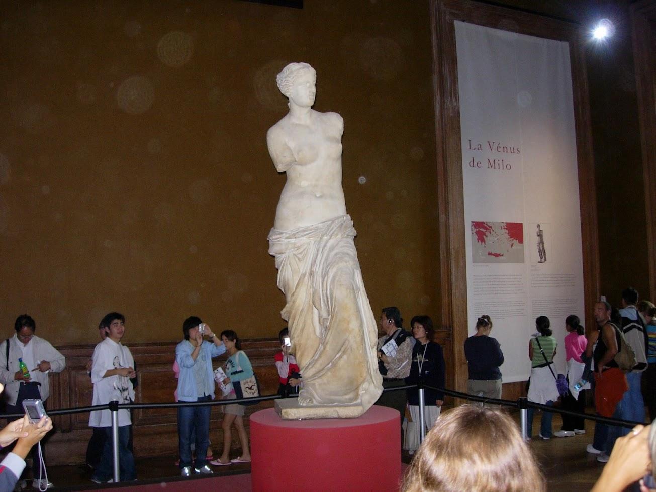 Vénus de Milo au Musée du Louvre à Paris