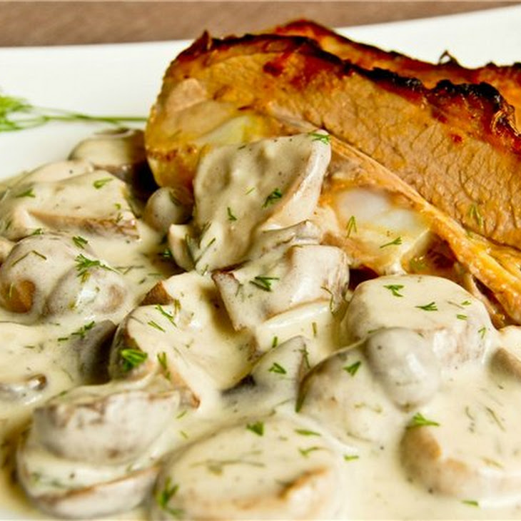 Veal Brisket With Champignons