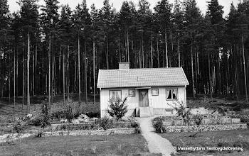Photo: Solliden 1950  byggt av Martin Ahlström 1948-50