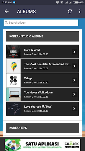 BTS Lyrics (Offline) 5.2 screenshots 3