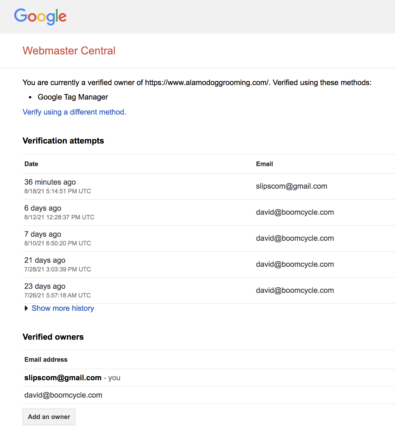 How to Give Boomcycle Access to Your Google Analytics 13