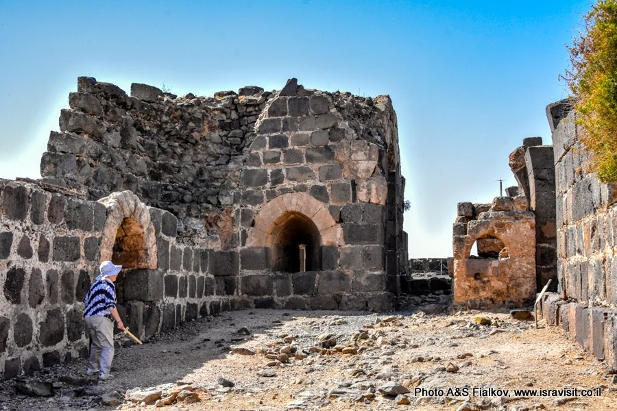 Крепость крестоносцев ордена госпитальеров Бельвуар или Кохав Ха-Ярден. Экскурсия в Израиле.