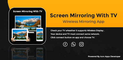 Screen Mirroring With TV - Video Casting With TV - by Nexa App Inc