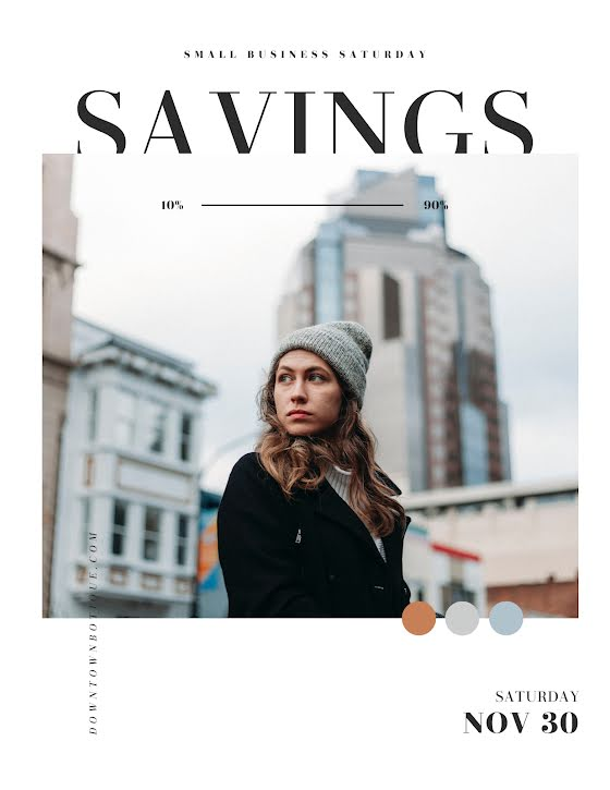 Small Business Savings - Flyer Template