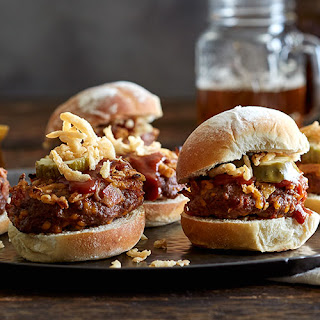 BBQ Bacon Cheddar Sliders