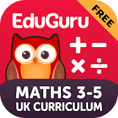 EduGuru Maths Kids 3–5 Free
