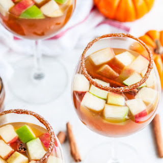 Salted Caramel Boozy Apple Cider