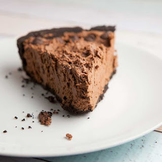 I've Been a Bad Girl Oreo Chocolate Mousse Pie.