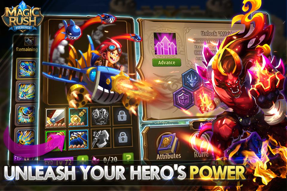 Magic Rush Heroes cheats