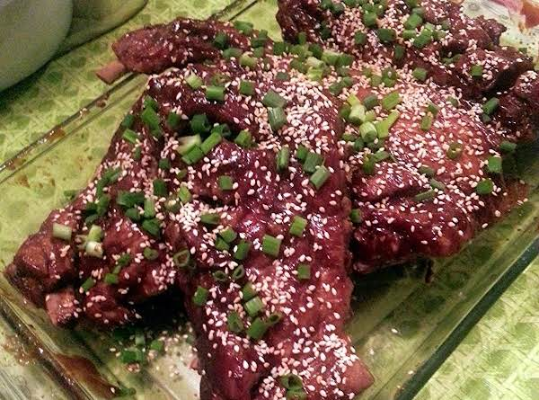 Sweet And Sipcy Asian Ribs Recipe