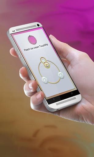 桃のアイスクリーム TouchPal