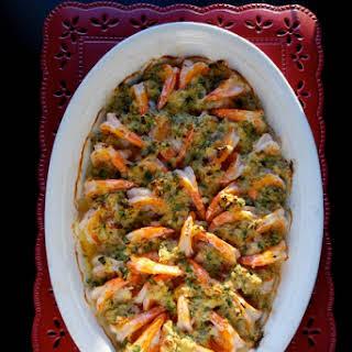 Baked Shrimp Scampi.