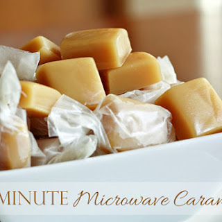 Ten Minute Microwave Caramels.