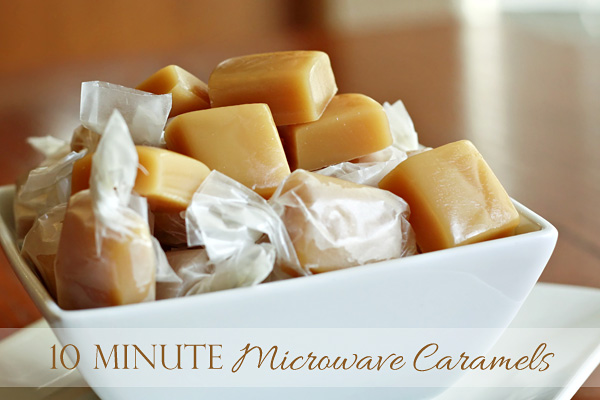 Ten Minute Microwave Caramels