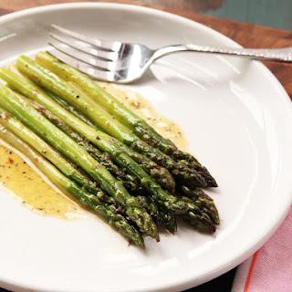 Braised Asparagus.