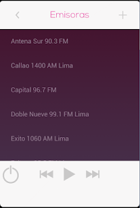 Radios de Peru screenshot 1