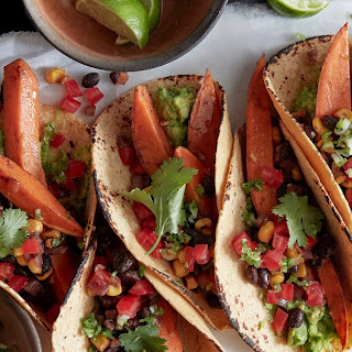 Spiced Sweet Potato Tacos