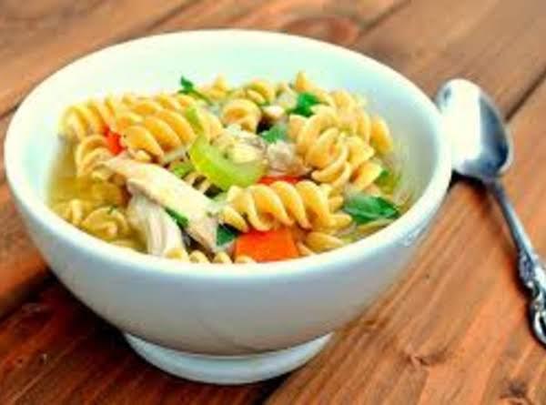 Turkey Noodle Soup Recipe