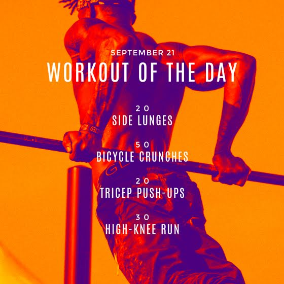 Workout of the Day - Instagram Post Template