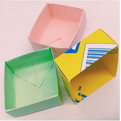Origami Rectangles