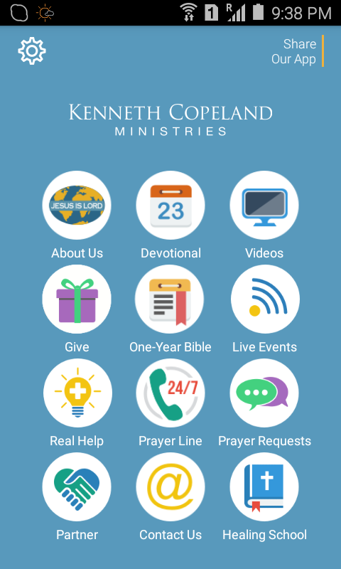 Kenneth Copeland Ministries- screenshot