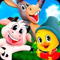 Animals songs, videos and Farm - Toy Cantando icon
