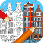 Travel Coloring Book For Adults Android APK Download Free By Infokombinat