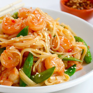 20-Minute Sweet and Sour Shrimp Stir-Fry.