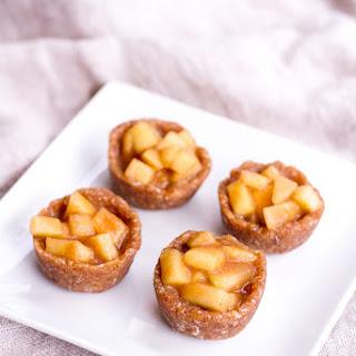 Mini Raw Apple Pies.