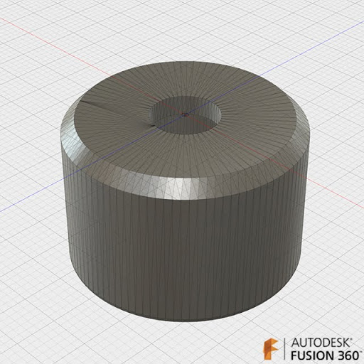 MakerFaireワークショップ用 PETボトルキャップカバー