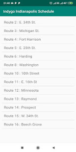Download Indygo Bus Schedule For PC Windows and Mac apk screenshot 3