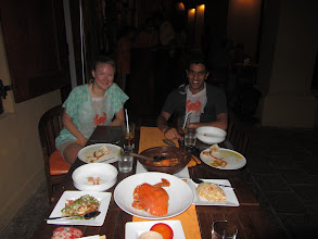 Photo: DINNER!!! So much food in Colombo.
