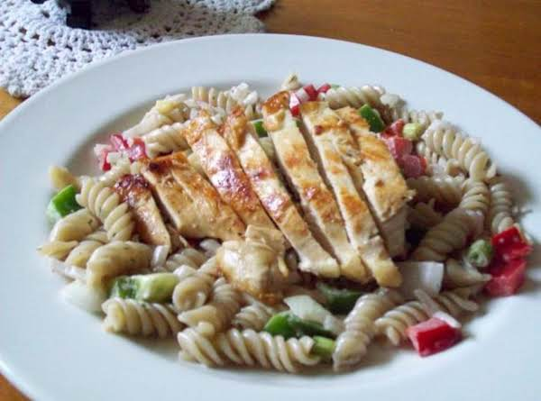 Chicken Salad With Pasta And Cheese Recipe