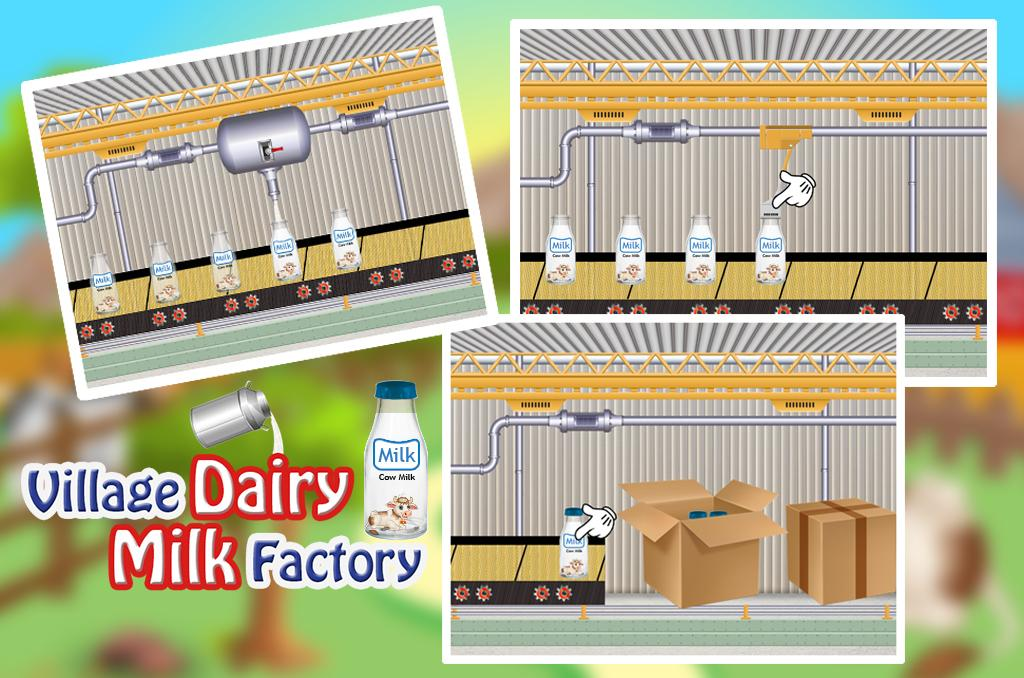 Village Dairy Milk Factory- screenshot