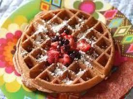 It's a Secret!: Mixed Berry Waffles