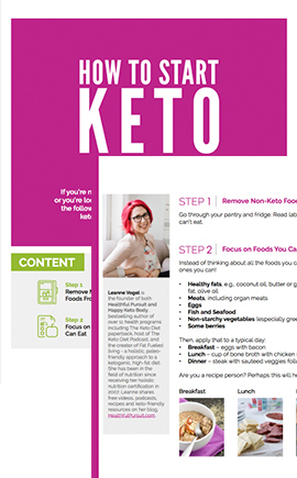 How to Start Keto Guide