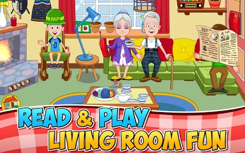 My Town : Grandparents- screenshot thumbnail