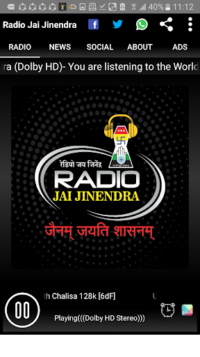 Radio Jai Jinendra- No.1 Online Radio on Jainism screenshot 6