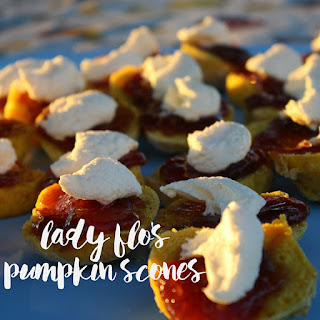 Lady Flo's Pumpkin Scones.